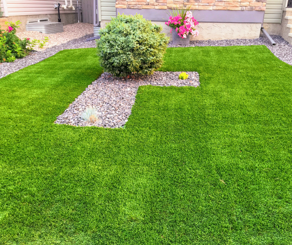 artificial grass lawn for urban landscape design