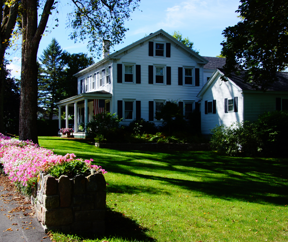 Classic New England landscape design style trend
